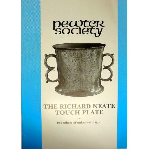 The Richard Neate Touch Plate and two others of unknown origin